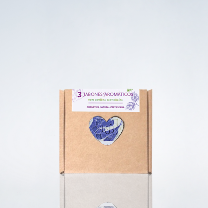 Pack de 3 jabones aromáticos